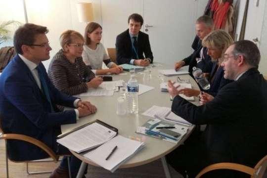 Гриневич пояснила суть освітньої реформи генсеку Ради Європи