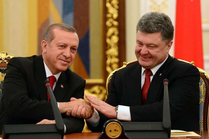 Порошенко таЕрдоган спілкувалися сам-на-сам протягом трьох годин