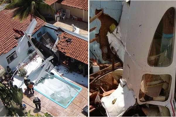 Літак впав нажитловий будинок вБразилії, три людини загинули