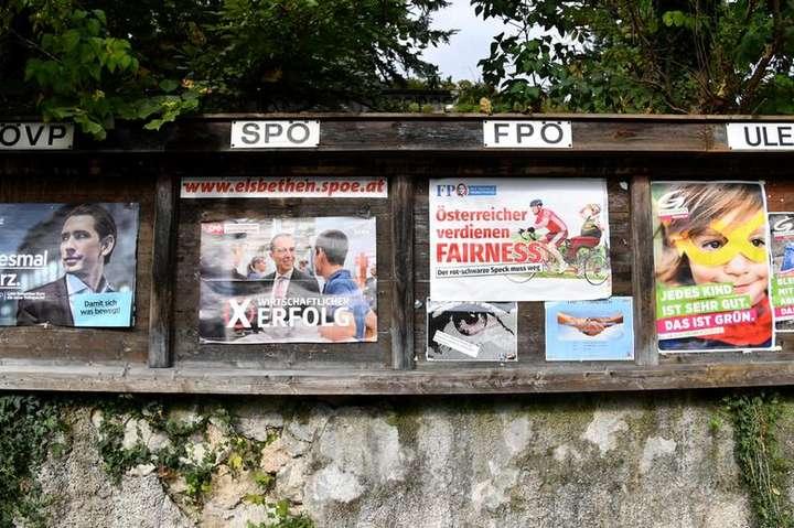 ВАвстрії проходять дострокові вибори впарламент