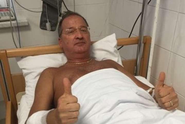 <p>Заступник голови Одеської облради Олег Радковський у лікарні після замаху на його життя</p>