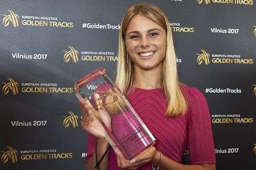 Українку Левченко визнали найкращою молодою легкоатлеткою Європи