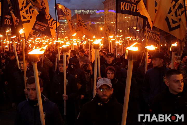 Покрова без погромів. Толерантні націоналісти пройшлись Києвом (фоторепортаж)