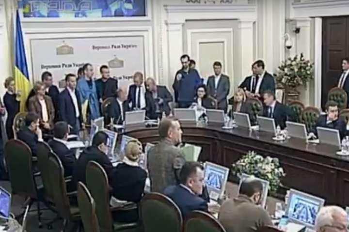 Група нардепів блокує засідання Погоджувальної ради
