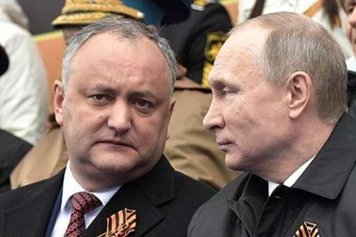 Кремлівська шльондра Додон хоче дострокових виборів парламенту Молдови