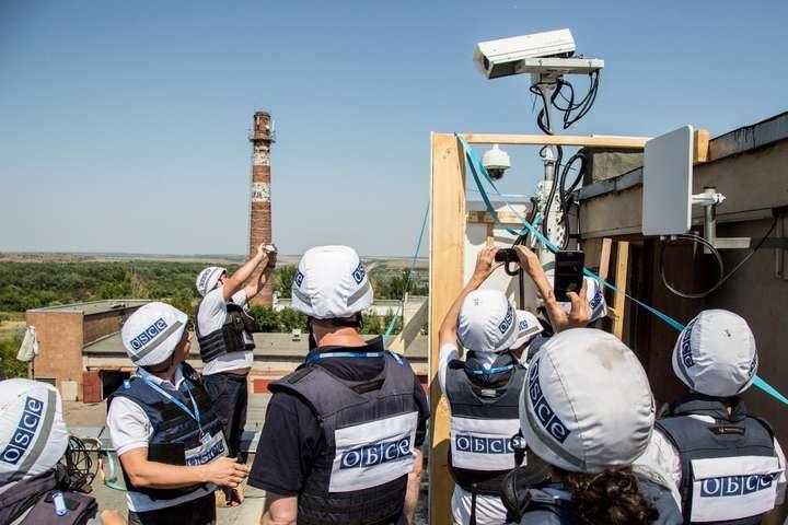Оліфер: бойовики навмисно виводять зладу відеокамери місії ОБСЄ наЛуганщині