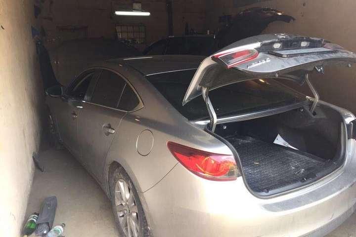 Один із викрадених автомобілів