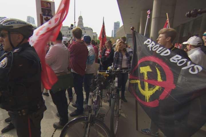 УКанаді сталися сутички між противниками Трюдо і антифашистами