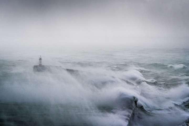 На Ірландію таБританію обрушився шторм «Брайан»