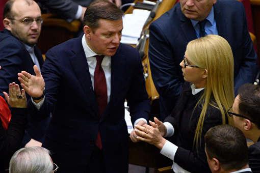 Жаба гадюку!: «Бобік Порошенка» Ляшко погрожує Тимошенко натравити на неї своїх «чіхуахуа»