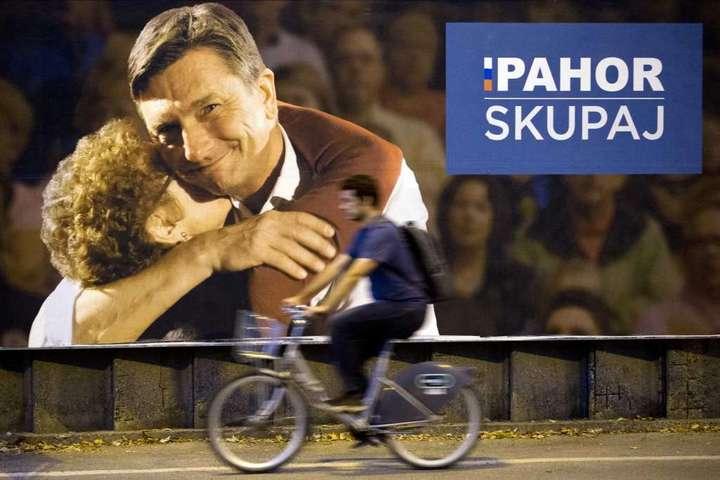 Навиборах вСловенії лідирує чинний президент