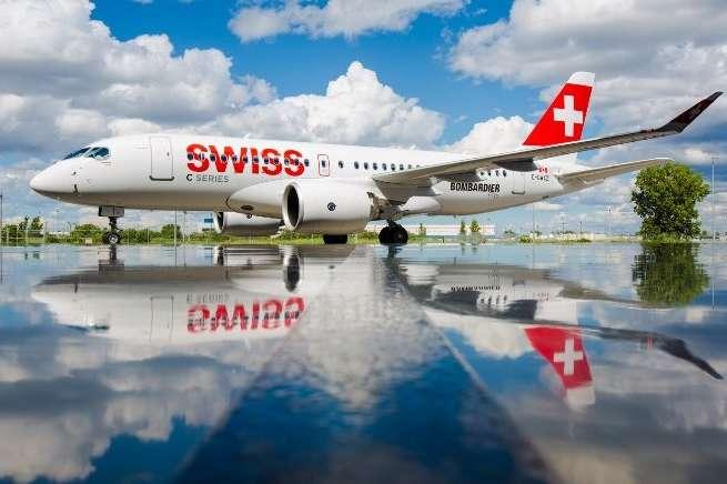 Швейцарська авіакомпанія Swiss відновить польоти вУкраїну у2018