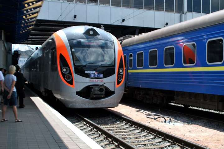 Згрудня швидкісні потяги «Укрзалізниці» будуть рухатись зазміненим графіком