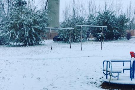 Харьков засыпало первым снегом— Зима недалёко