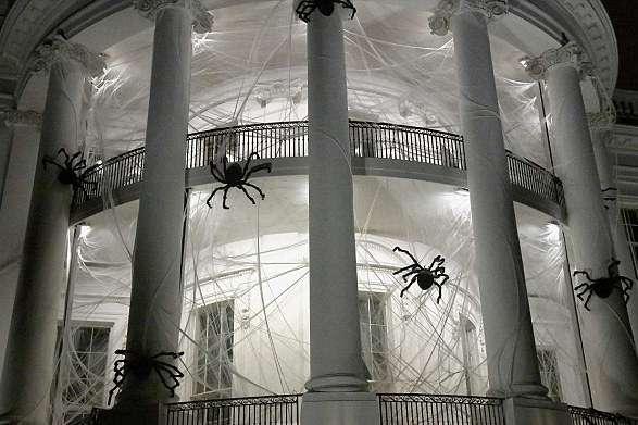 Белый дом устроит наХеллоуин вечеринку спрофилями президентов натыквах