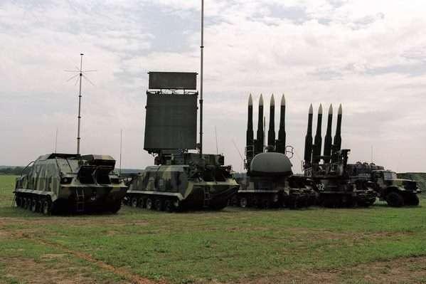 Збройні Сили наХерсонщині проводять випробування зенітних керованих ракет