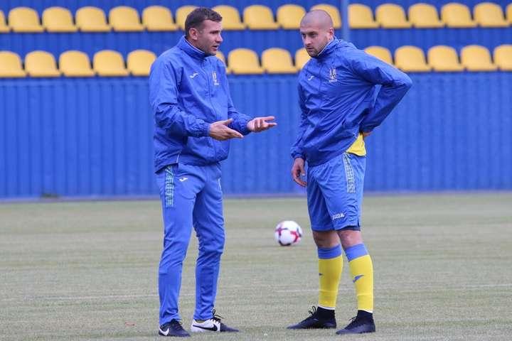 Ракицький пропустить матч збірної України зі Словаччиною