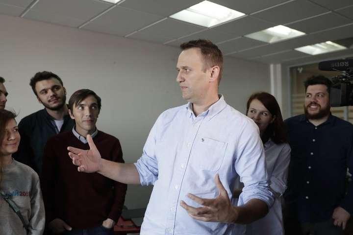 Суд Москви зареєстрував позов російського опозиціонера Навального доПутіна