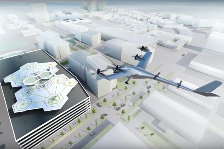 ВІДЕО: Uber і NASA створюватимуть разом центр управління літаючими таксі