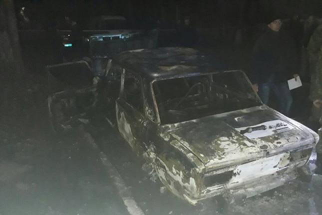 УЖовтих Водах зпротитанкового гранатомета розстріляли автівку із поліцейськими