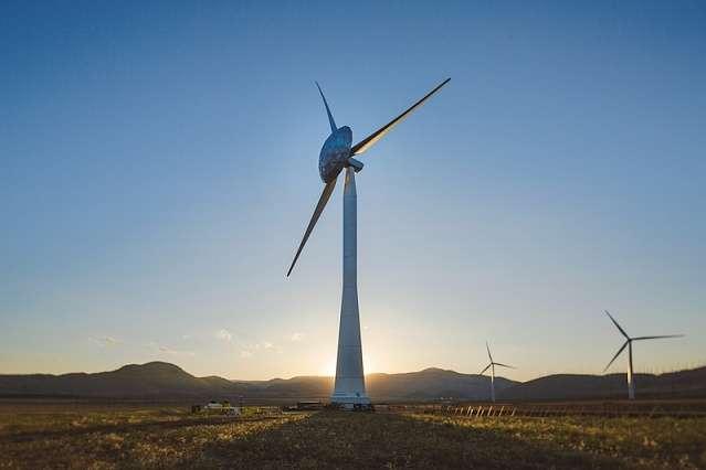 НаХерсонщині введено вексплуатацію 12 вітрогенераторів вітряної електростанції