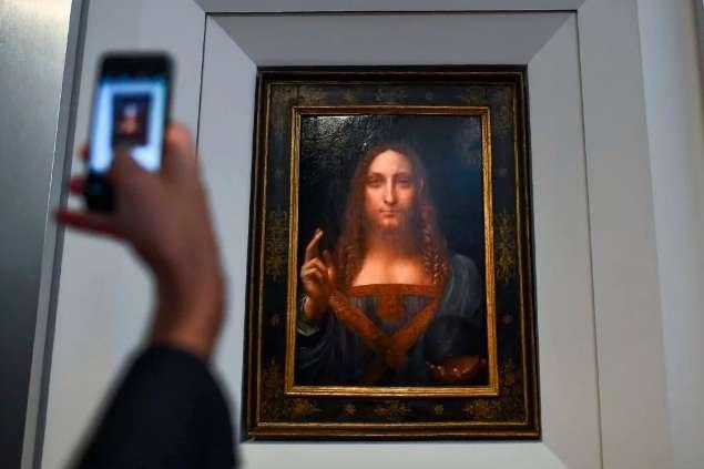 Картину да Вінчі «Рятівник світу» продали зарекордні $450,3 млн