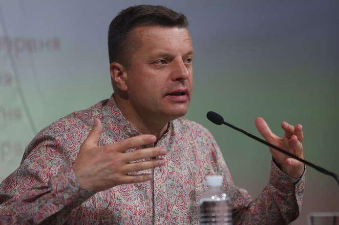 Репортер Леонид Парфенов вКиеве объявил, что русские иукраинцы— «сиамские близнецы»