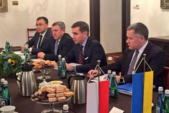 УКракові проходить зустріч консультаційного комітету України таПольщі