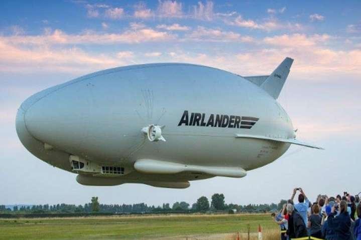 УВеликій Британії знову впав найбільший усвіті дирижабль Airlander 10