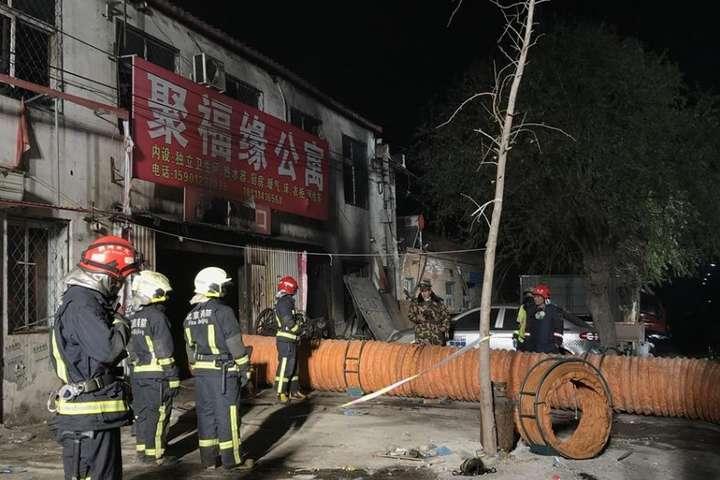 Пожежа уПекіні: 19 загиблих