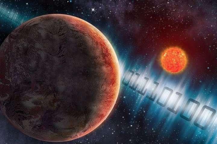 Вчені відправили можливій позаземній цивілізації повідомлення