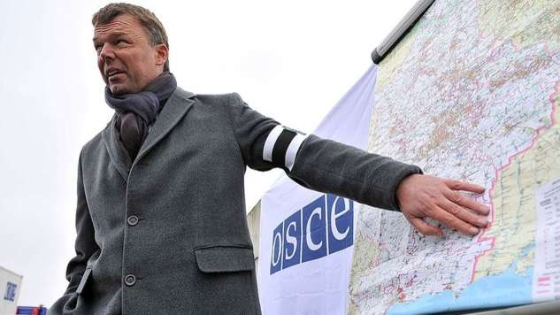 Перший заступник глави місії ОБСЄ Олександр Хуг