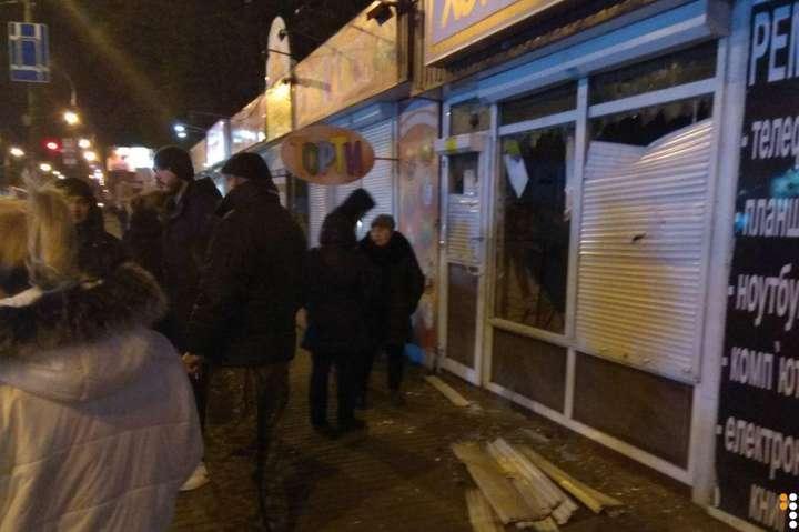Зафактом пошкодження лотомаркетів наНивках відкрито кримінальне провадження