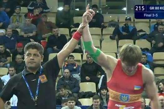 Український борець виграв «бронзу» на Чемпіонаті світу у Польщі