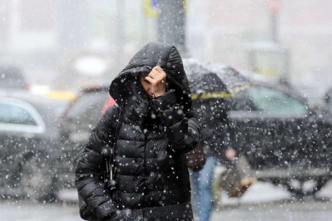 ВУкраїну йде похолодання змокрим снігом