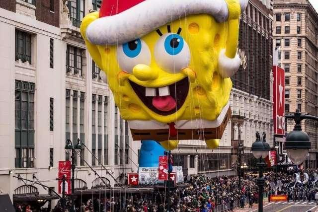 ВНью-Йорке прошёл традиционный парад вчесть Дня благодарения