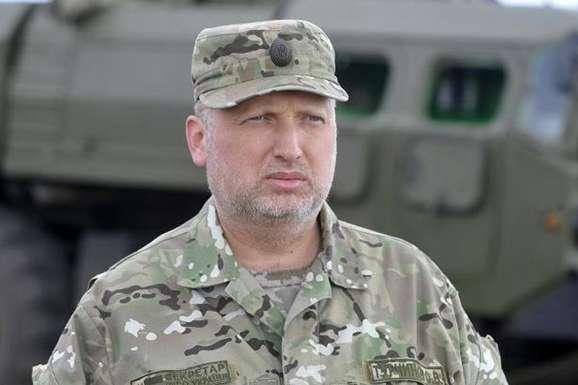 Турчинов: НаДонбасі ескалація конфлікту, але ЗСУ контролюють ситуацію