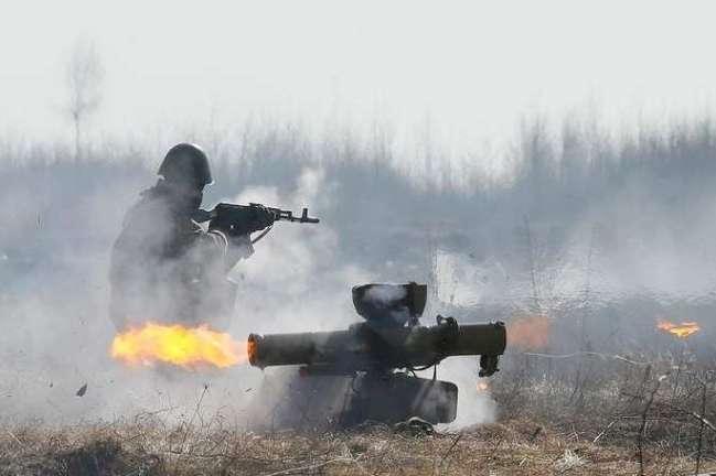 Бойовики сьогодні сім разів обстрілювали позиції сил АТО
