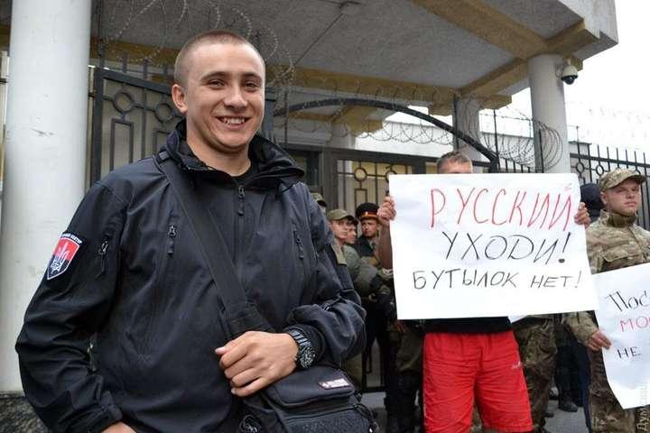 Одеський губернатор пообіцяв внести заставу за арештованого Стерненка