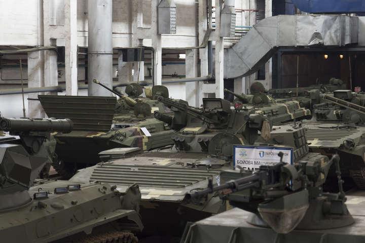 Укроборонпром продемонстрировал новый броневик, который может убить танк с5км
