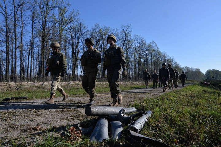 УКалинівці підписали акт про повне очищення території від боєприпасів