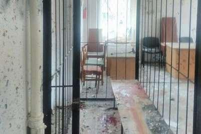 ВУкраинском государстве взорвано строение суда. есть жертвы