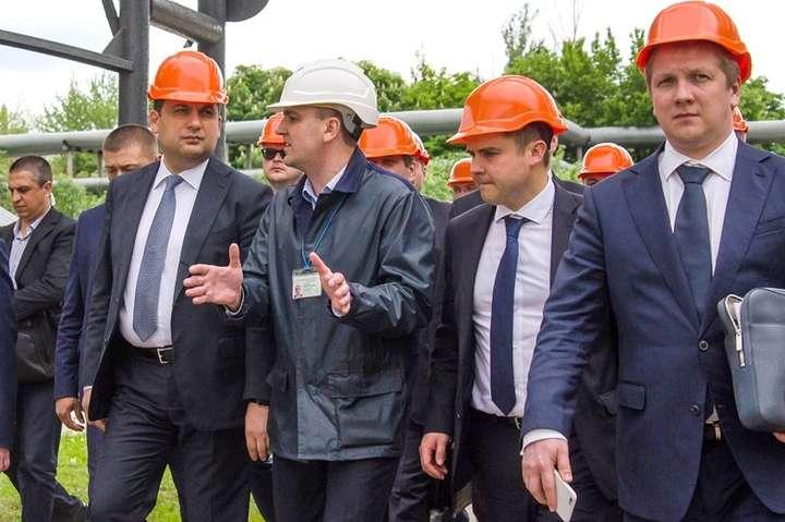 Уряд на газопереробному заводі — Газовий прорив. Найпростіший рецепт для України