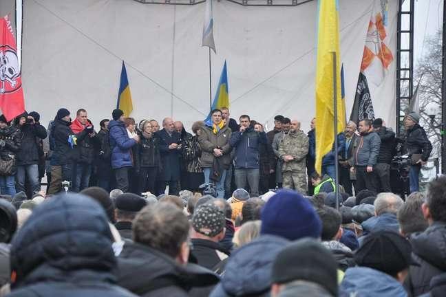 Руководитель киевской милиции призвал приверженцев Михо неустраивать провокации около Рады