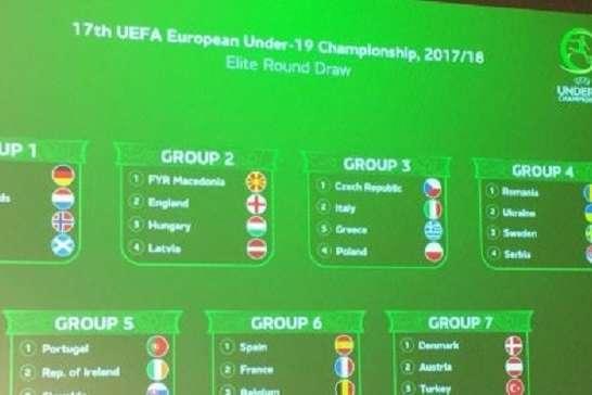 Визначилися суперники футбольної збірної України (U-19) веліт-раунді Євро