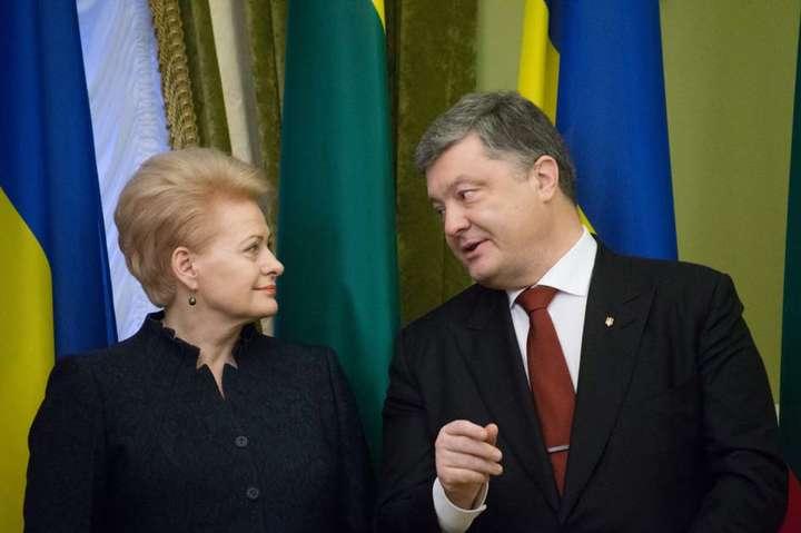 Разговоры оЕвропе: президент Украины анонсировал собственный  визит вЛитву