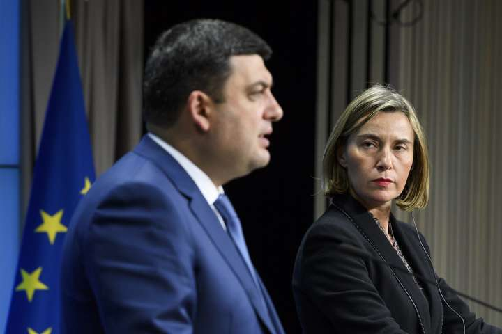 Могеріні: ЄС вимагає відРФ звільнити усіх українських заручників