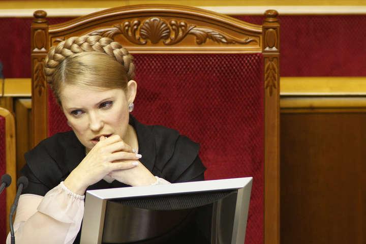 Прихильники Тимошенко не пожертвували за квартал «Батьківщині» жодної копійки