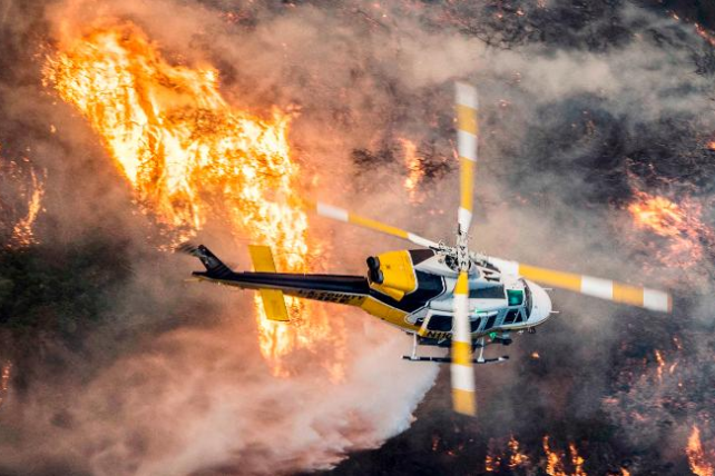Пожежі вКаліфорнії перевищили заплощею місто Нью-Йорк