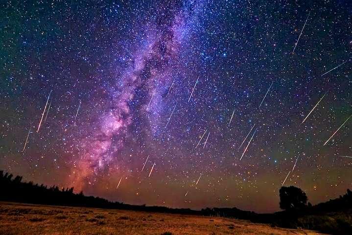 У ніч на14 грудня можна буде спостерігати метеоритний дощ